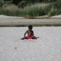 En stor sandlåda ;)