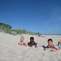 Varm go sand