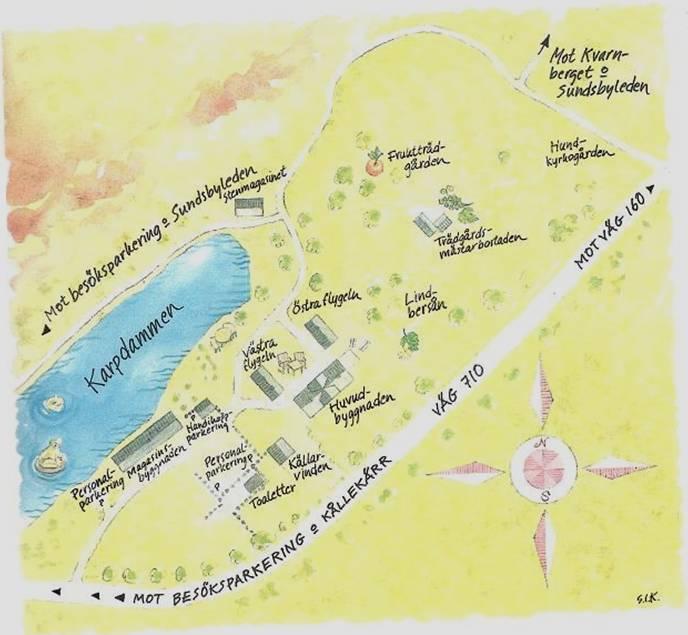 sundsby säteri karta BLAD.SE :: | En blog, foton, länkar och annat kul skapar denna  sundsby säteri karta